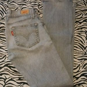 """Levi's 504 """"Tilted"""" Junior Jeans sz 5 Med $30"""